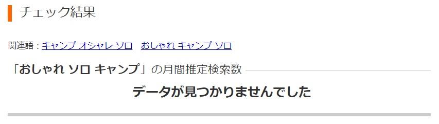 aramakijake検索ボリューム数